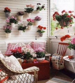 Balcony Garden Ideas For Decorate Your House 35
