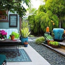 Beautiful Tropical Outdoor Decoration For Cozy Place 01