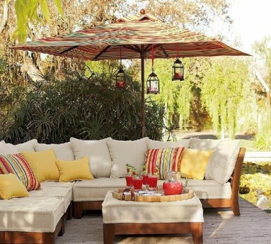 Beautiful Tropical Outdoor Decoration For Cozy Place 07