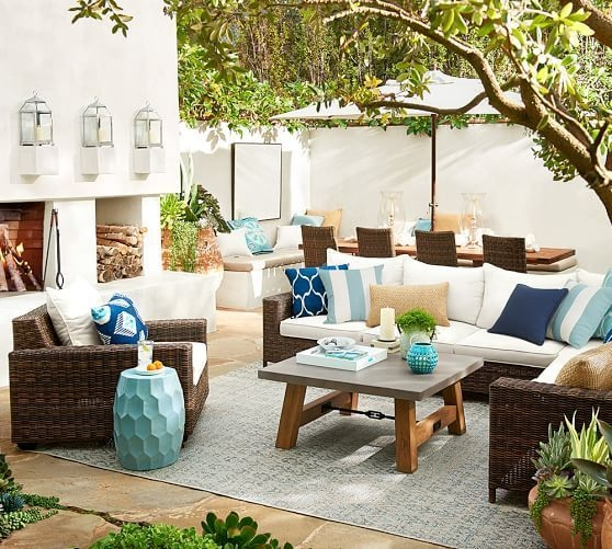Beautiful Tropical Outdoor Decoration For Cozy Place 20