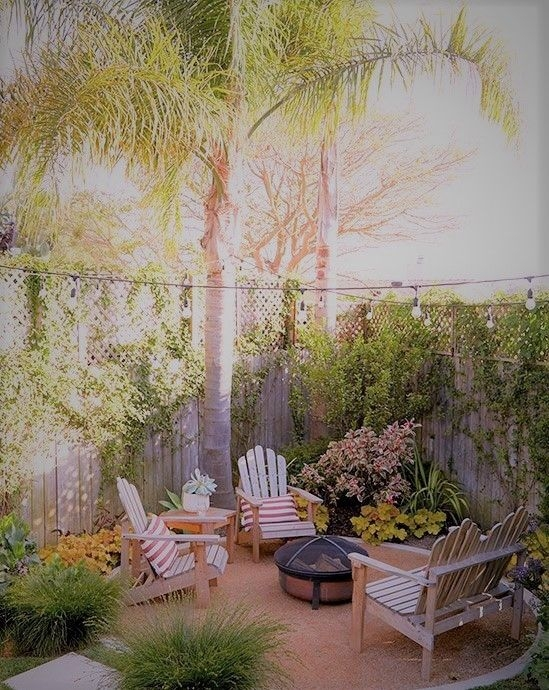 Beautiful Tropical Outdoor Decoration For Cozy Place 28