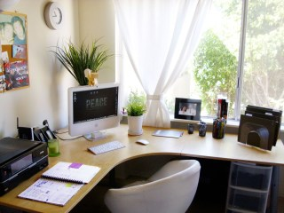 Best Decorating Ideas For Home Office Design 04