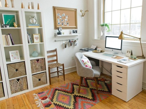 Best Decorating Ideas For Home Office Design 24