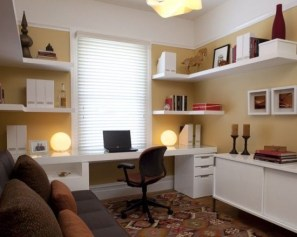 Best Decorating Ideas For Home Office Design 27