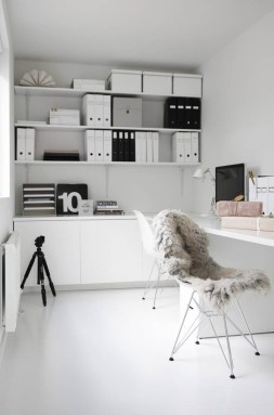 Best Decorating Ideas For Home Office Design 48