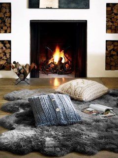 Best Decorating Ideas For Winter Fireplace 04