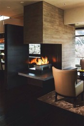 Best Decorating Ideas For Winter Fireplace 25