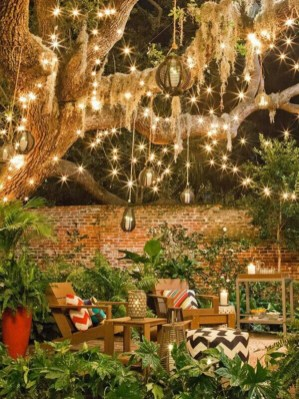 Best Garden Decorate With Some DIY Hanging Lights 25