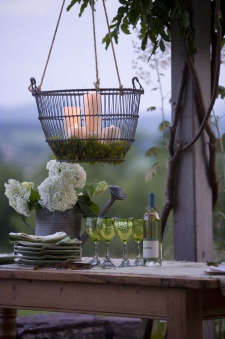 Best Garden Decorate With Some DIY Hanging Lights 40