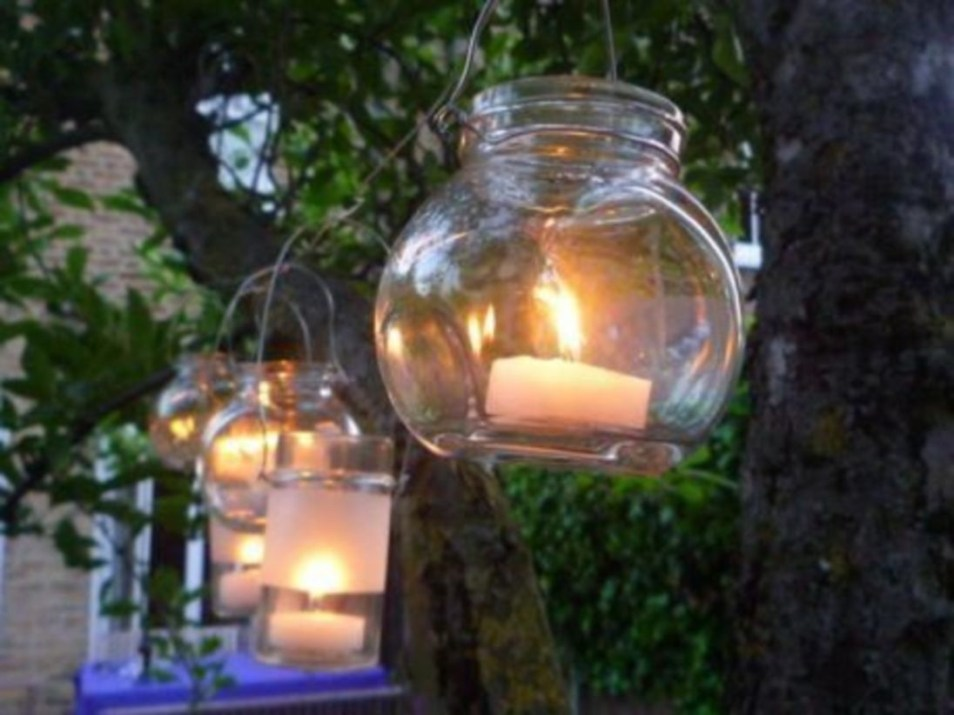 Best Garden Decorate With Some DIY Hanging Lights 43