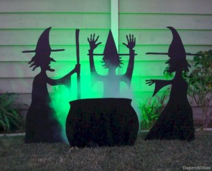 Best Ghost Silhouette DecorIideas To Haunt Your Guests 04