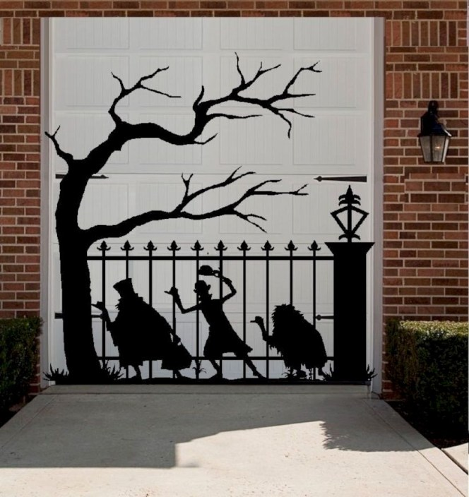 Best Ghost Silhouette DecorIideas To Haunt Your Guests 10