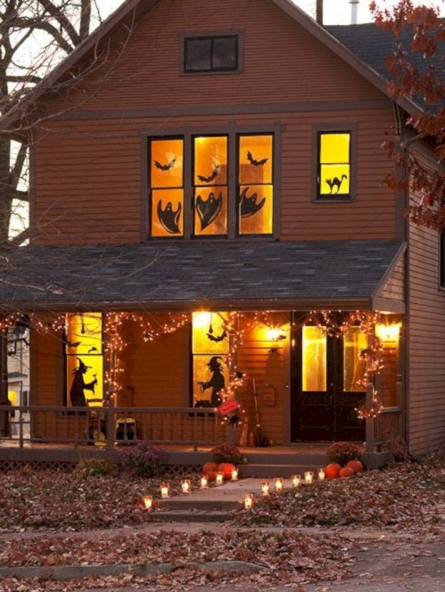 Best Ghost Silhouette DecorIideas To Haunt Your Guests 16