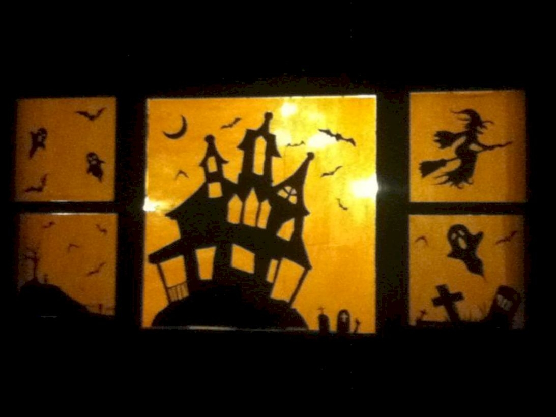 Best Ghost Silhouette DecorIideas To Haunt Your Guests 30