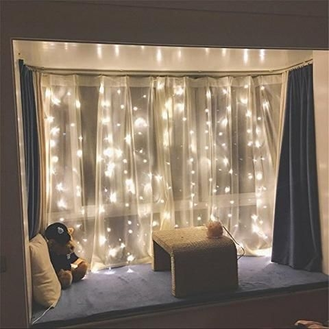 Better Homes And Gardens With Outdoor LED Curtain Lights 01