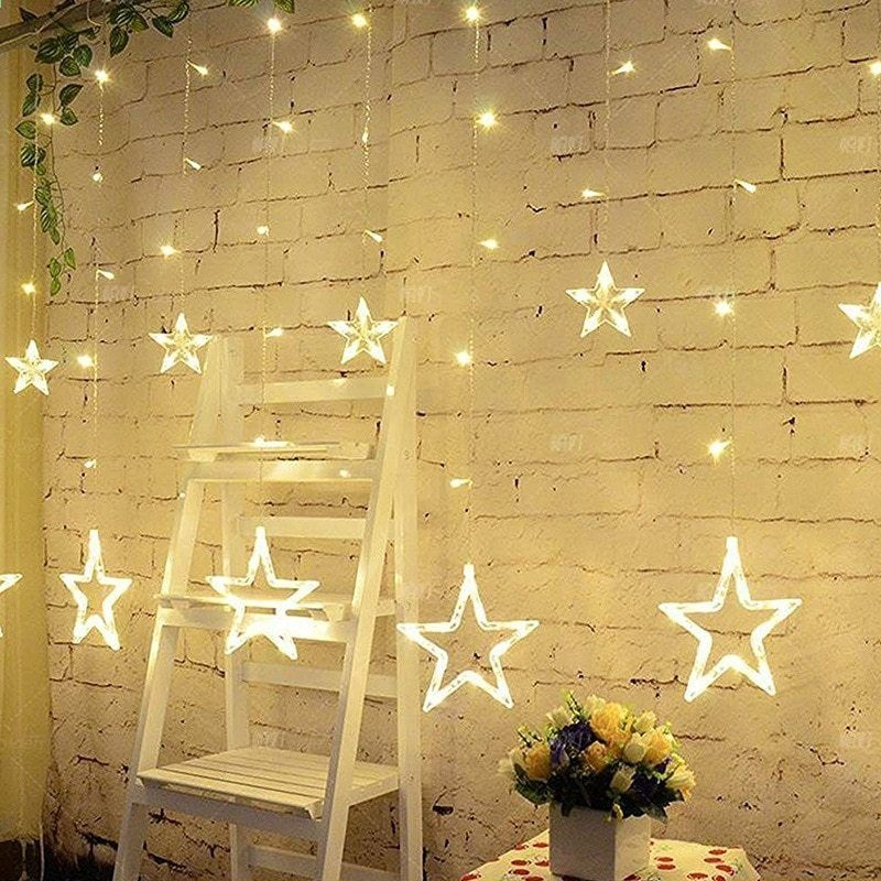 Better Homes And Gardens With Outdoor LED Curtain Lights 08