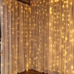 Better Homes And Gardens With Outdoor LED Curtain Lights 14