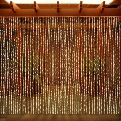 Better Homes And Gardens With Outdoor LED Curtain Lights 18