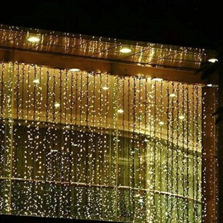 Better Homes And Gardens With Outdoor LED Curtain Lights 21