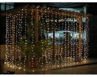 Better Homes And Gardens With Outdoor LED Curtain Lights 23