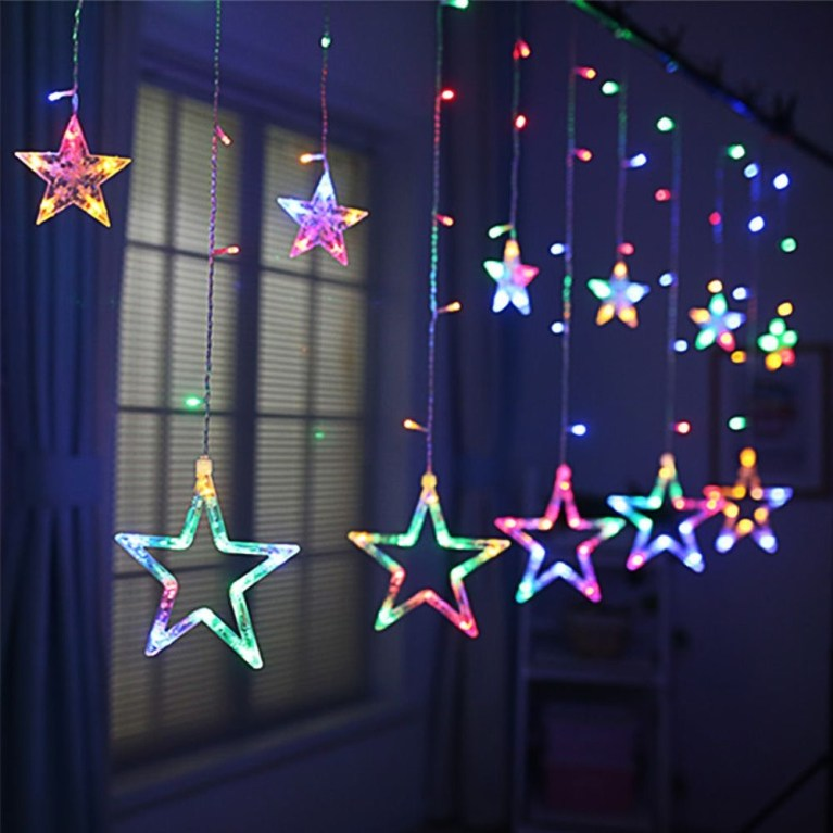 Better Homes And Gardens With Outdoor LED Curtain Lights 25