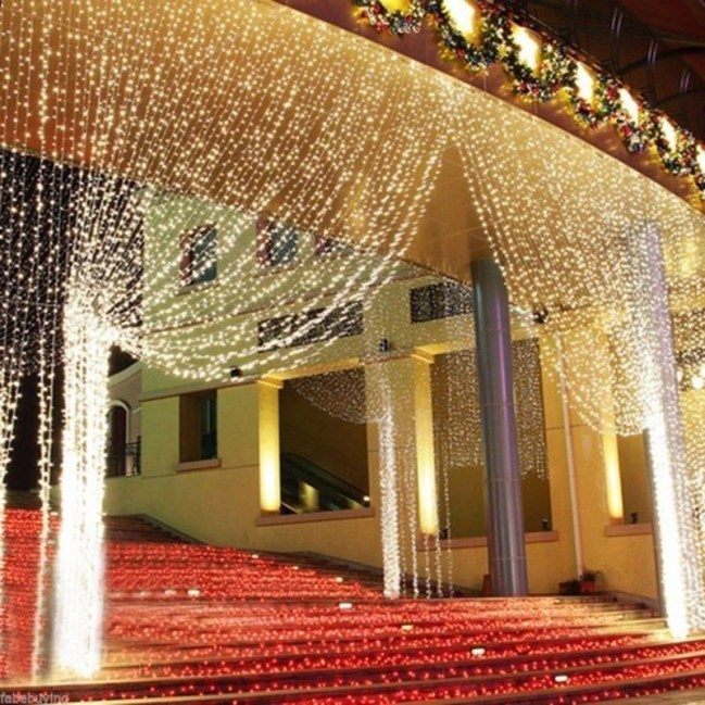 Better Homes And Gardens With Outdoor LED Curtain Lights 28