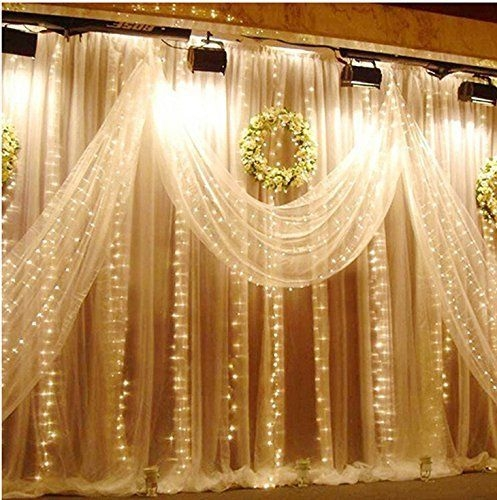 Better Homes And Gardens With Outdoor LED Curtain Lights 31