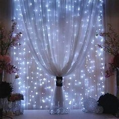 Better Homes And Gardens With Outdoor LED Curtain Lights 34