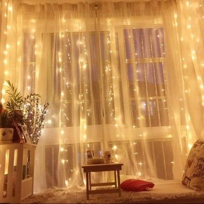 Better Homes And Gardens With Outdoor LED Curtain Lights 35