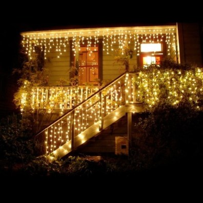 Better Homes And Gardens With Outdoor LED Curtain Lights 41