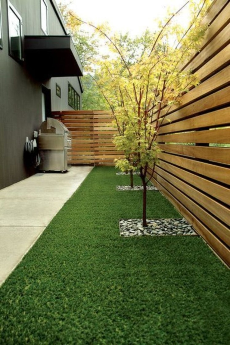 DIY Wood Project For Landscaping Backyard Ideas 09