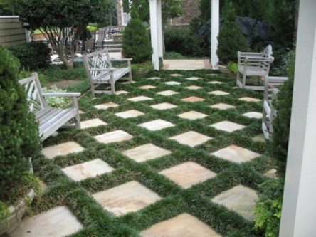 DIY Wood Project For Landscaping Backyard Ideas 10