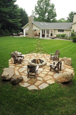 DIY Wood Project For Landscaping Backyard Ideas 13