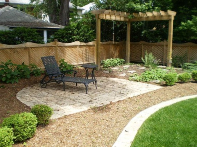 DIY Wood Project For Landscaping Backyard Ideas 16