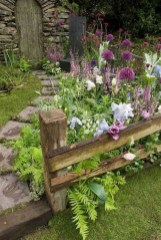 DIY Wood Project For Landscaping Backyard Ideas 42