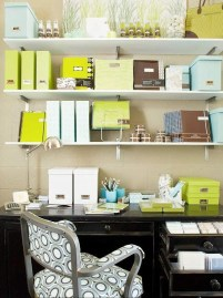 Easy Tips To Organize Your Home Office In Order To Be A Comfortable Place 46