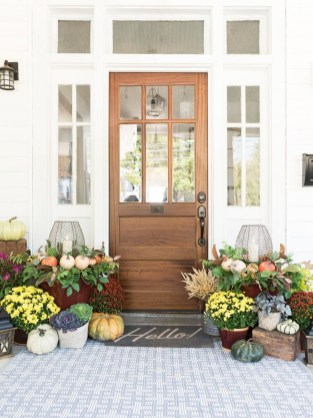 Front Porch Decorating Ideas Try For Your Design 42