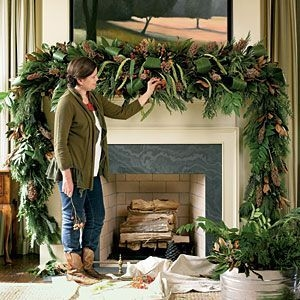 Gorgeous Christmas Mantel For Fireplace Decorate In Your House 35