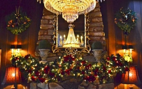 Gorgeous Christmas Mantel For Fireplace Decorate In Your House 45