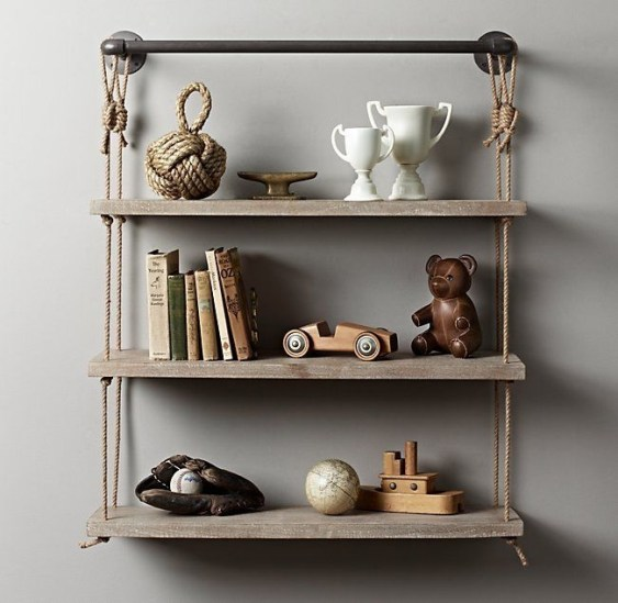 Hanging Shelves Decoration You Can Put In Your Wall 17