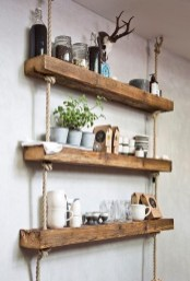 Hanging Shelves Decoration You Can Put In Your Wall 22