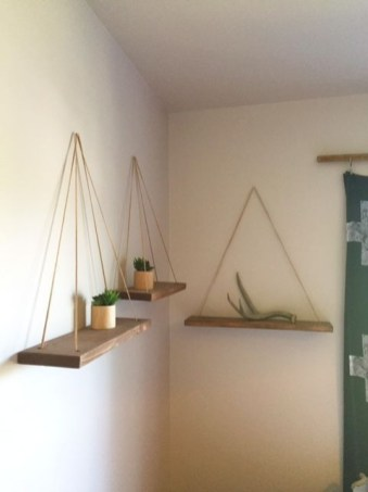 Hanging Shelves Decoration You Can Put In Your Wall 24