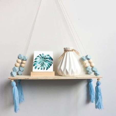 Hanging Shelves Decoration You Can Put In Your Wall 25