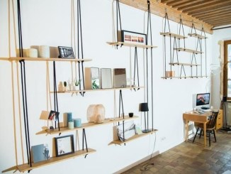 Hanging Shelves Decoration You Can Put In Your Wall 42