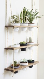 Hanging Shelves Decoration You Can Put In Your Wall 48