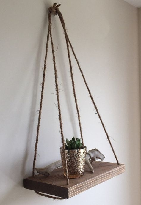 Hanging Shelves Decoration You Can Put In Your Wall 49
