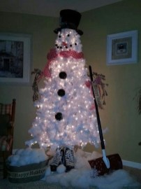 How To Make Amazing Snowman For Decorate Your Christmas Day 19