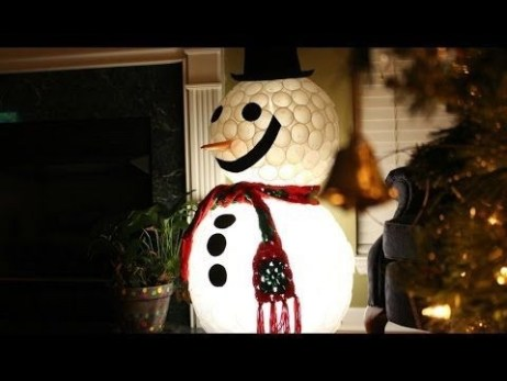 How To Make Amazing Snowman For Decorate Your Christmas Day 25