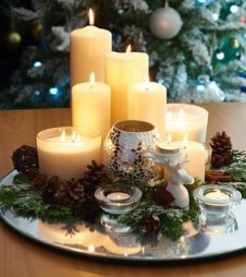 Luxury Christmas Table Decoration For Celebrating Christmas This Year 22
