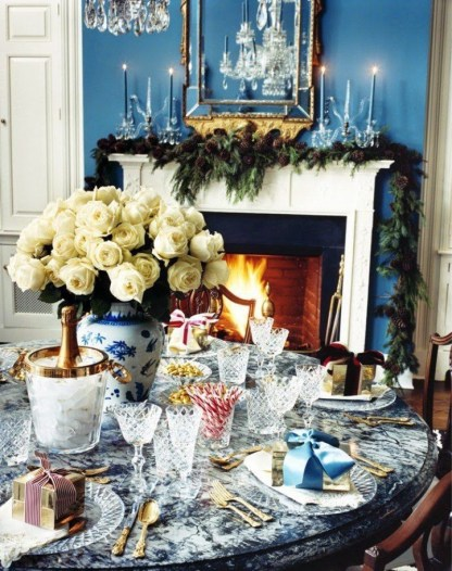 Luxury Christmas Table Decoration For Celebrating Christmas This Year 32